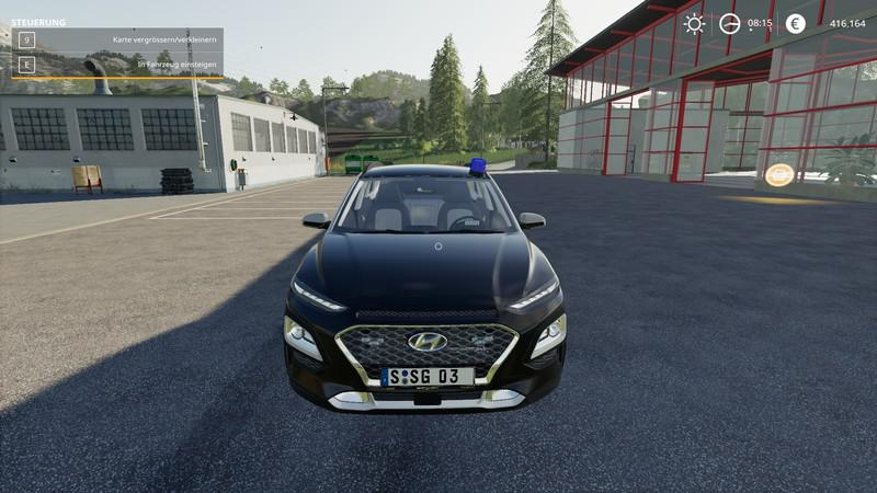 FS19 - Hyundai Kona 2019 Kripo V1.0