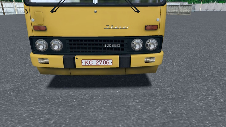 Omsi 2 –  Ikarus 280.02/.33 Nameplates and Signs Mod