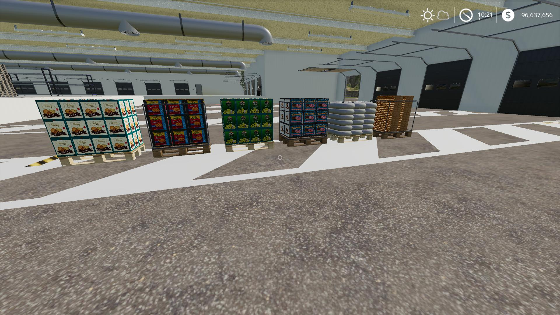 FS19 - Warehouse DryStorage V1.1