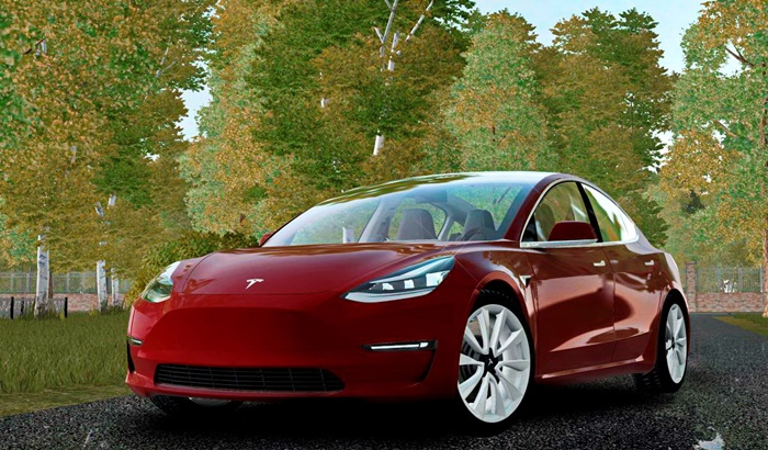 City Car Driving 1.5.9 – 2018 Tesla Model 3