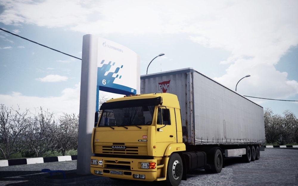 ETS2 - Kamaz 5460 Truck (1.35.X)