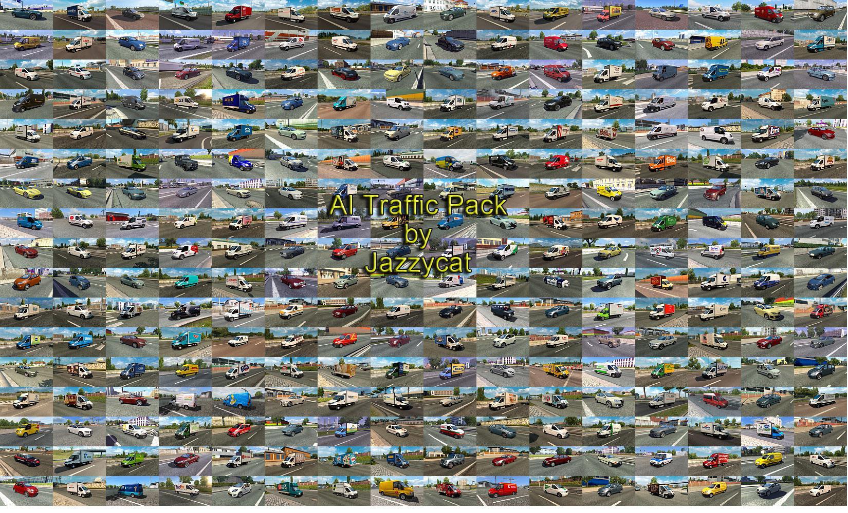 ETS2 - AI Traffic Pack V12.3 (1.36.x)