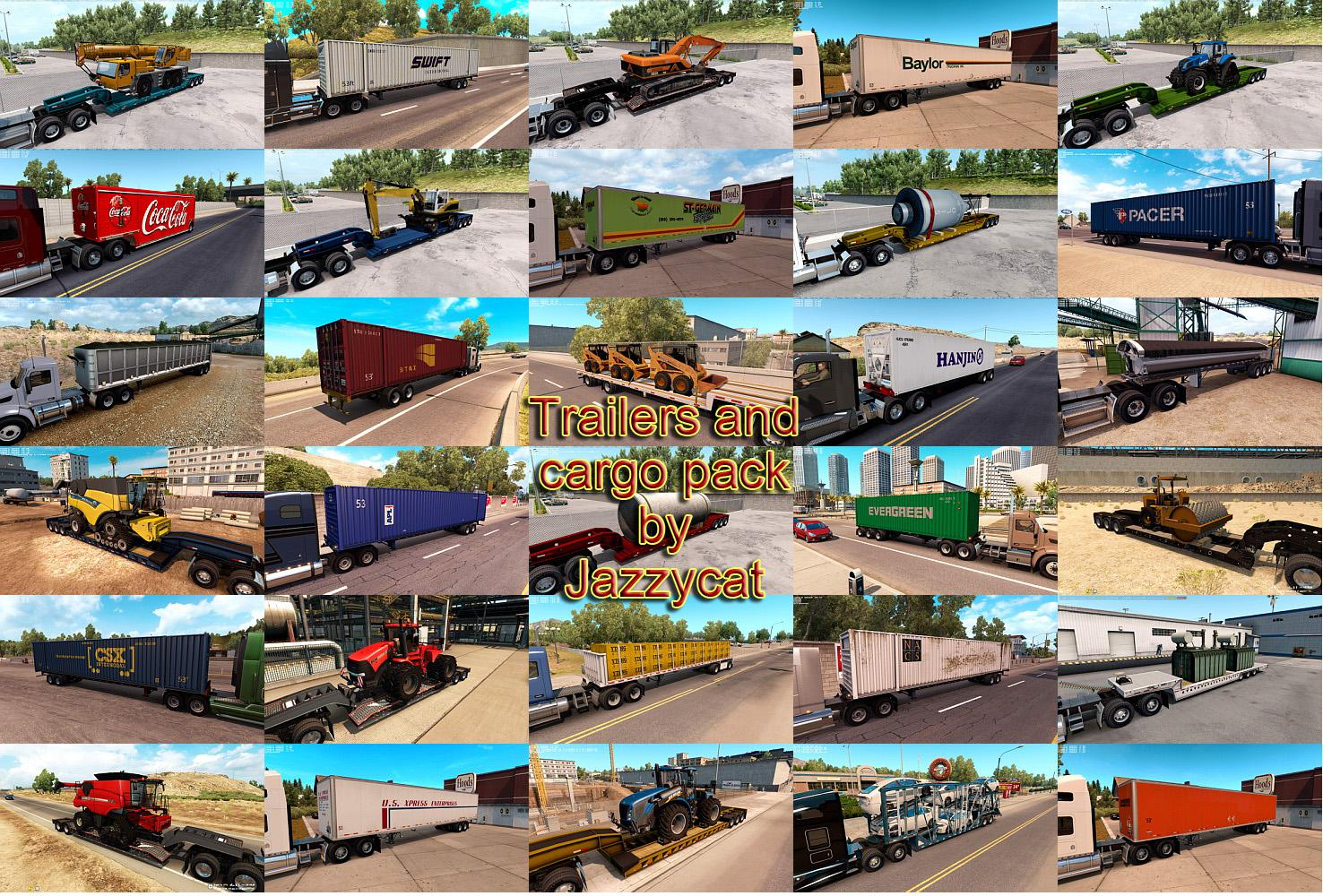 ATS - Trailers and Cargo Pack V2.6 (1.35.X)
