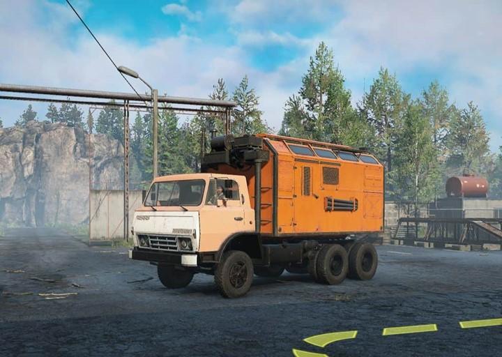SnowRunner - Z-170v75 Prototype Truck V1.0