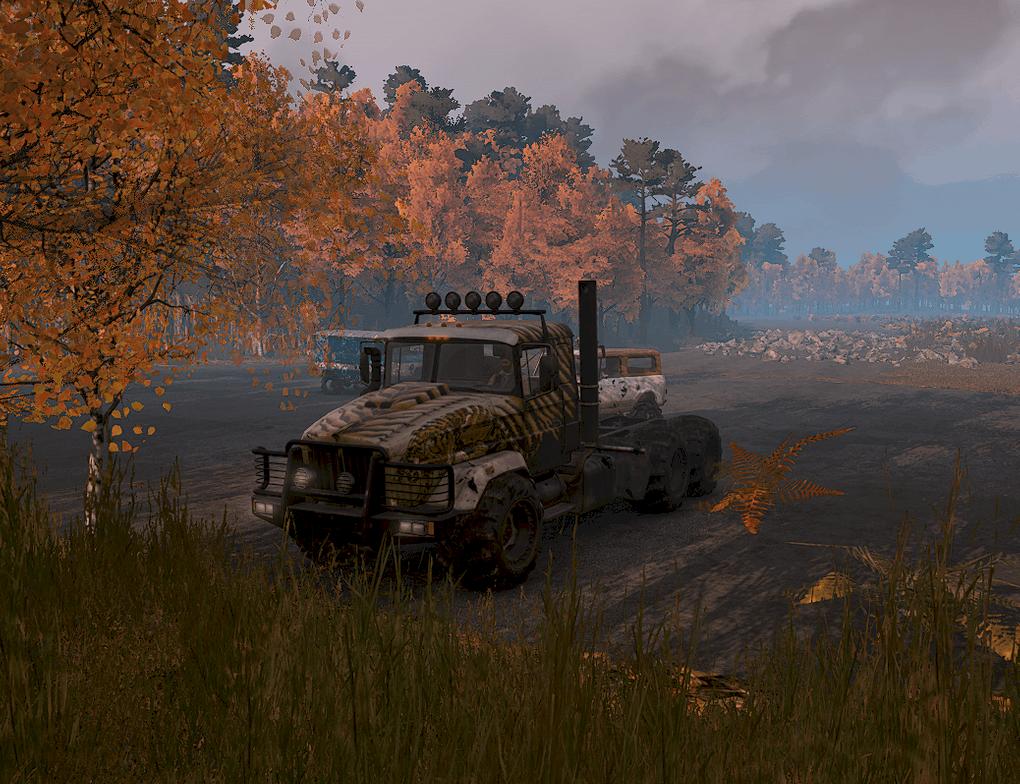 SnowRunner - Driven to Destruction Map V1.0 Alpha