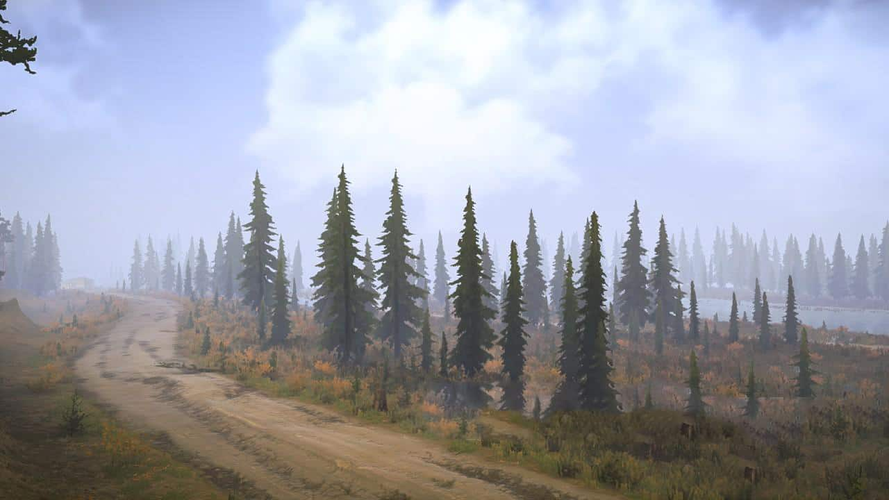 SpinTires:Mudrunner - River Map v1.0