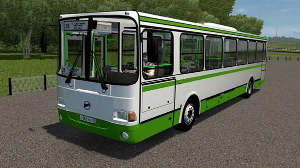 City Car Driving 1.5.9 - LiAZ 5256.57 Bus Mod