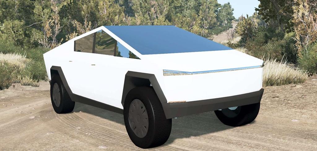 BeamNG - Tesla Cybertruck Prototype 2019 Car Mod