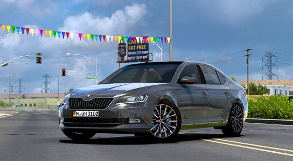 ATS - Skoda Superb 2017 V3.0 (1.40.x)