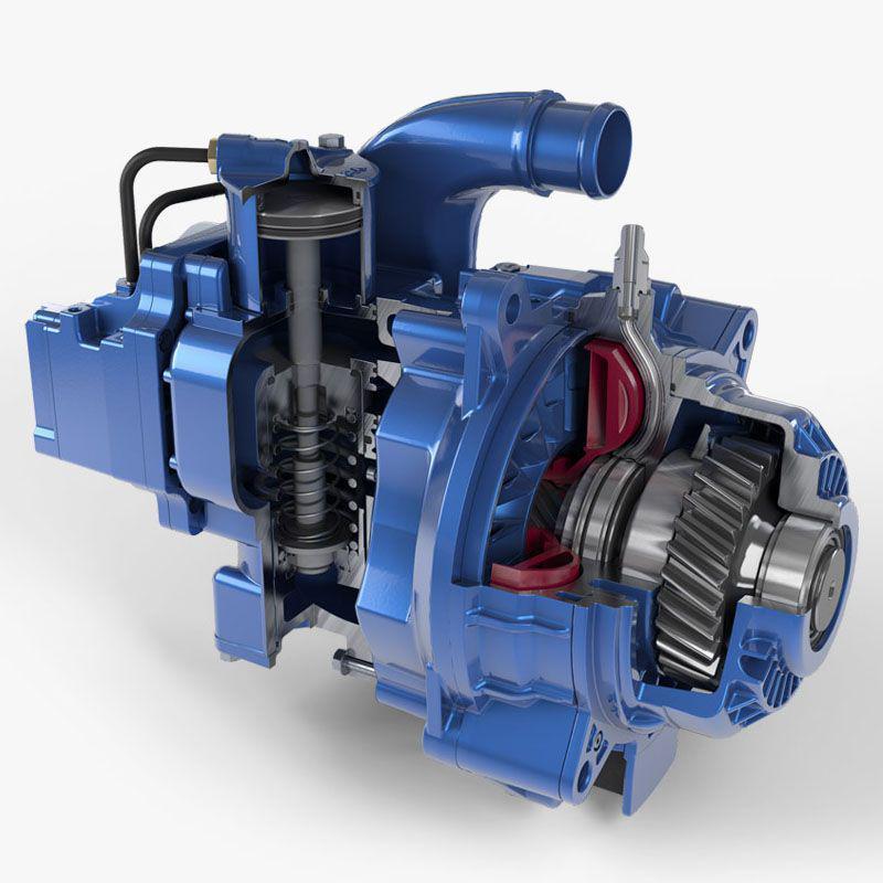 ATS - New Voith Aquatarder Retarder Sound for All Trucks (1.35.X)