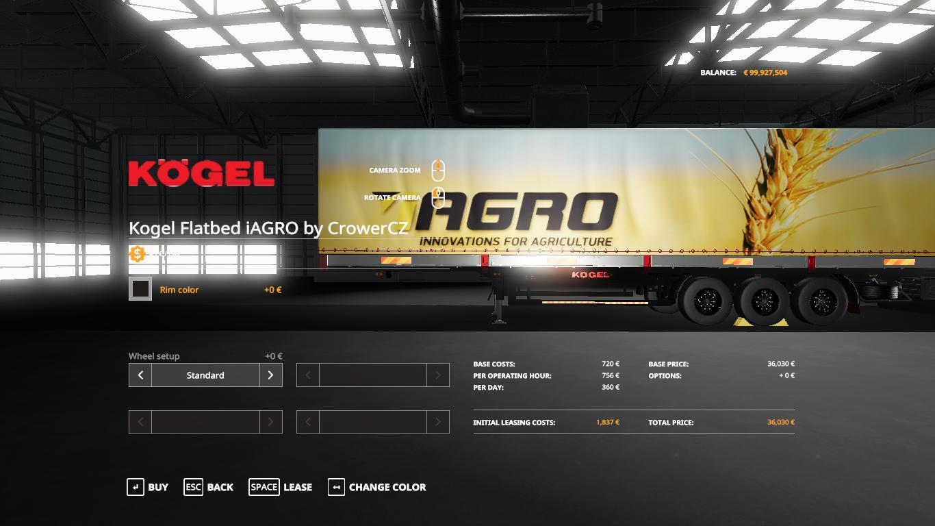 FS19 - lAgro Kogel Autoloader Trailer V1.0