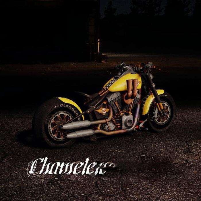 SnowRunner - Harley Davidson Fat Boy V1.0