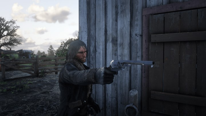 RDR2 - Navy Revolver in SP (Swaps with The LeMat)