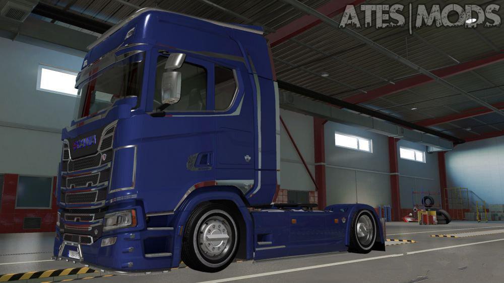 ETS2 - Pony Tire Mod V1 (1.37.x)