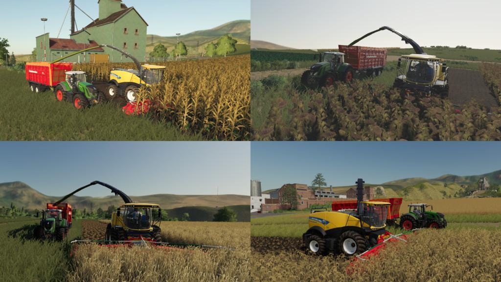 FS19 - Multi Harvest Headers V1.0