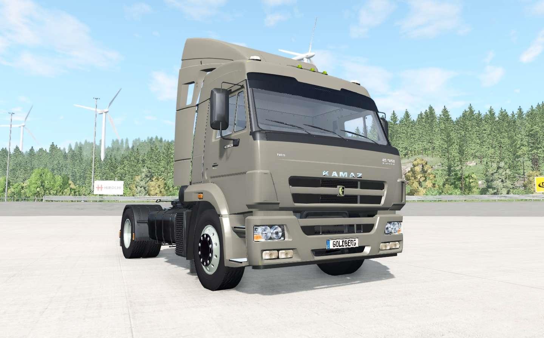 BeamNG - KamAZ-5460 Truck