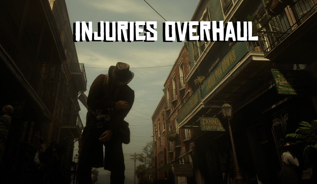 RDR2 - Injuries Overhaul