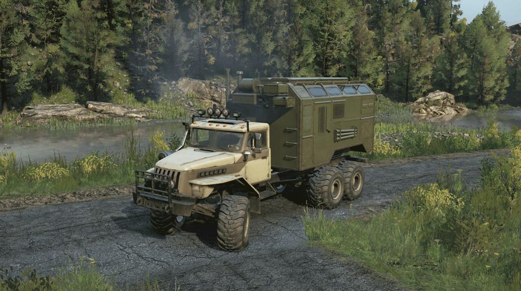 SnowRunner - Ural Military Truck V1