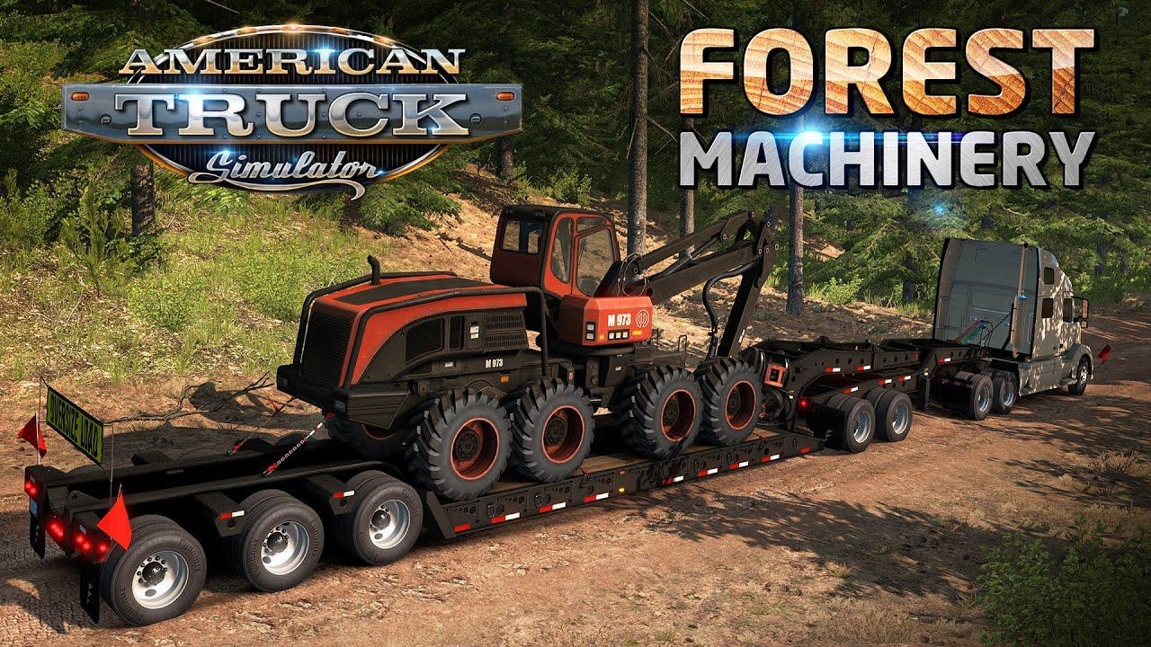 ATS - Forest Machinery Trailers (1.37.x)