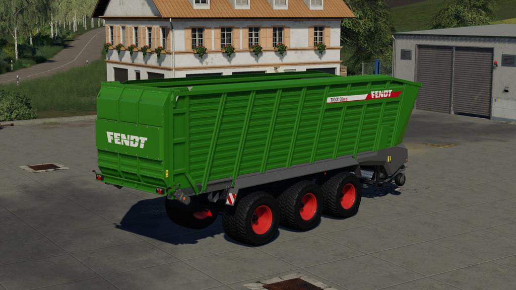 FS19 - Fendt Tigo 100XR Trailer V1.0