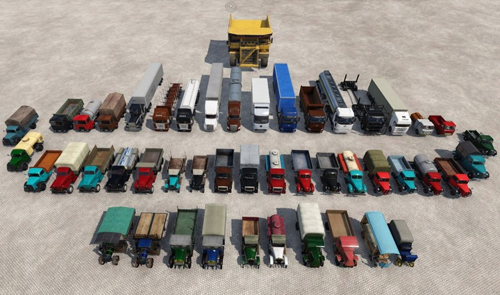 Transport Fever 2 - Asset Truck with Colors