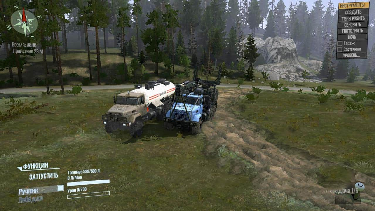 Spintires:Mudrunner - KrAZ-7140H6 Truck V1.1