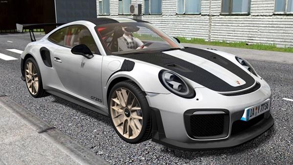 City Car Driving 1.5.9 – Porsche 911 GT2 RS 2018