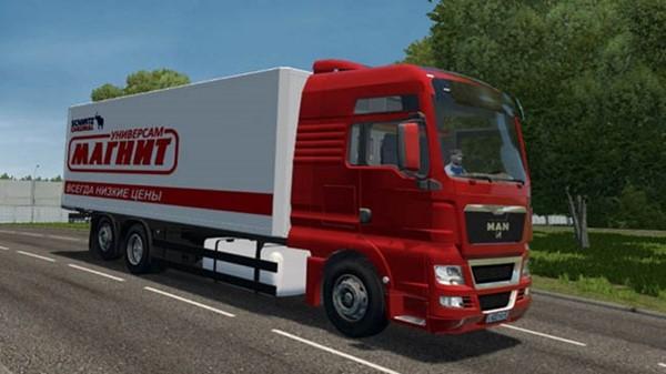 City Car Driving 1.5.9 - Man Tgs Truck