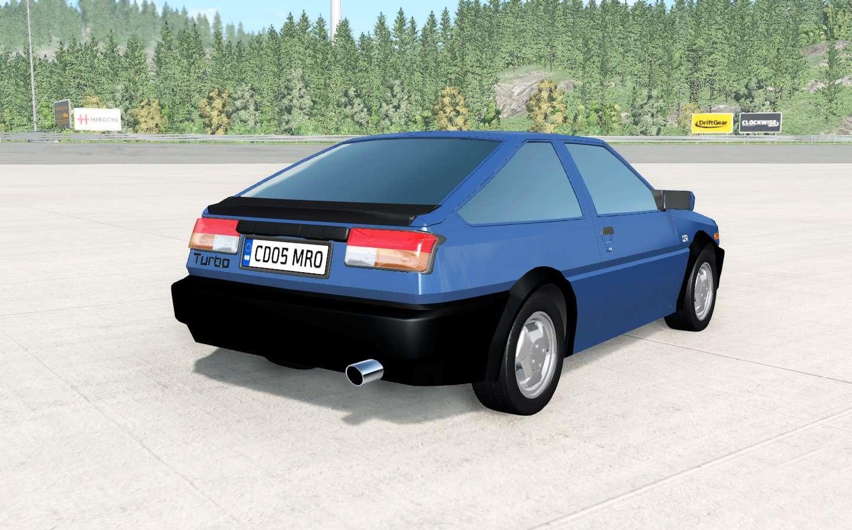 BeamNG – Mitsubishi Cordia GSR Turbo Car Mod