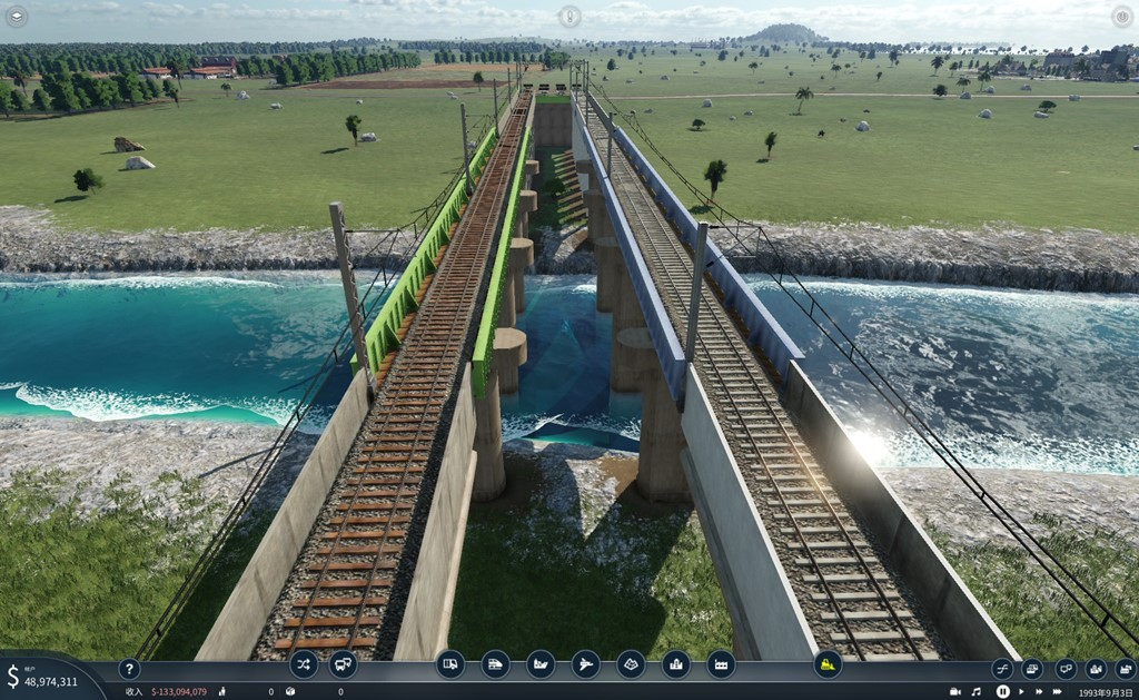 Transport Fever 2 - JB-6 Girder Bridge 2