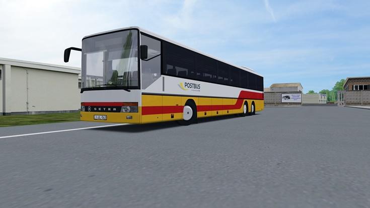 Omsi 2 – Repaint Setra S319UL (Postbus)