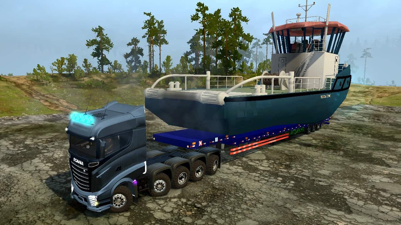 Spintires:Mudrunner - Scania R1000 Concept Truck V2.1