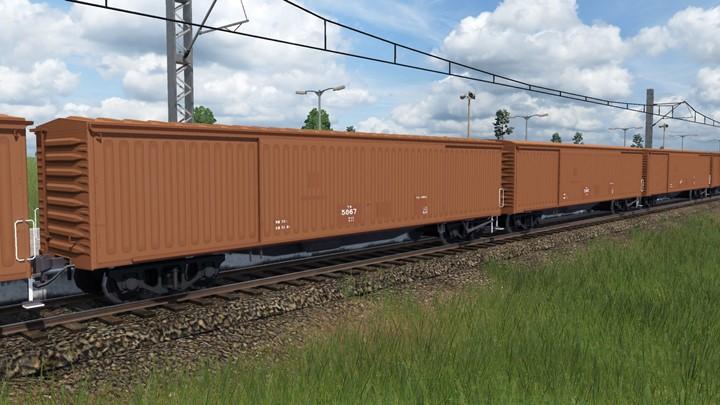 Transport Fever 2 - JNR WaKi 5000 Covered Wagon