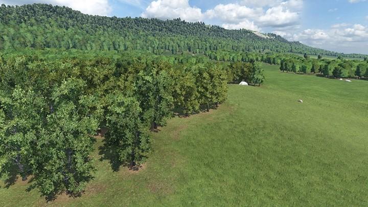 Transport Fever 2 - Tree Shade Variation