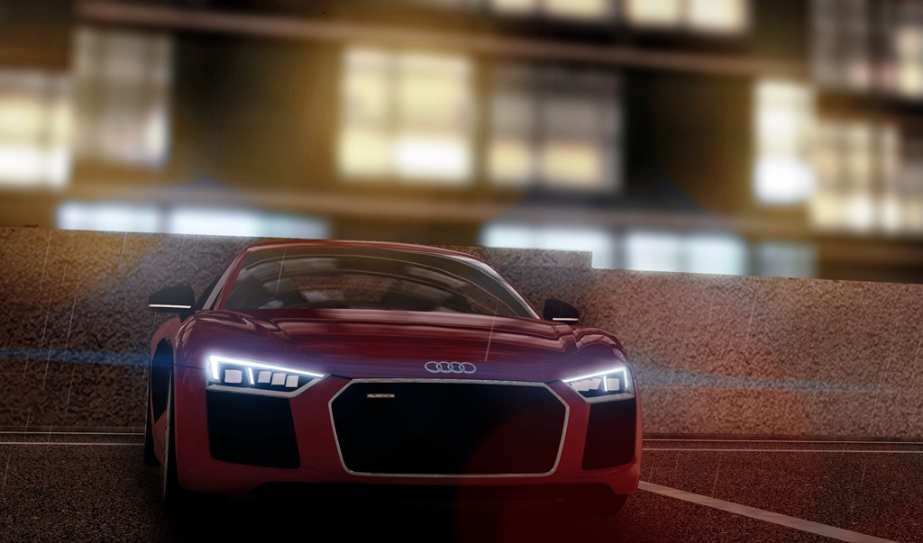City Car Driving 1.5.8 - Audi R8 V10 Plus