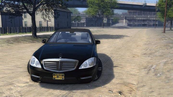 Mafia 2 – Mercedes-Benz S65 AMG 2011 (W221)