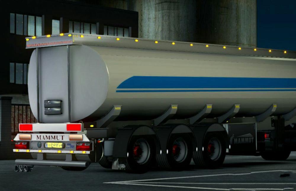 ETS2 - Mammut Oil Tanker V1.0 (1.36.x)