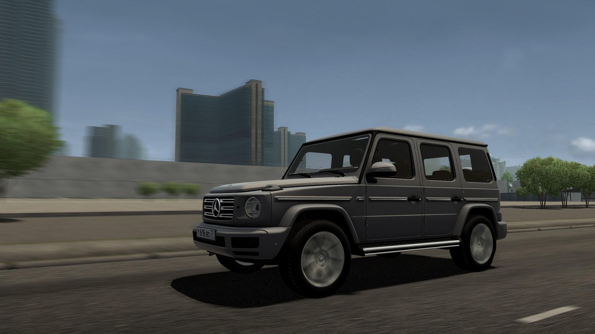 City Car Driving 1.5.8 - 2019 Mercedes-Benz G500