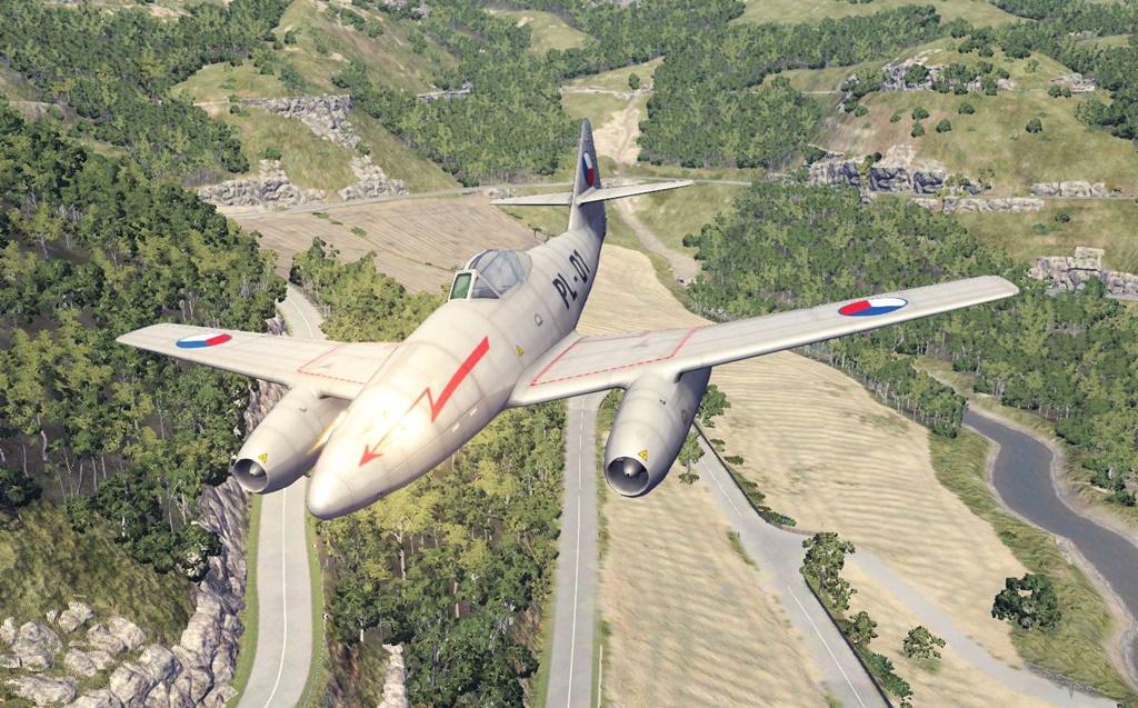 BeamNG - Messerschmitt Me.262 Plane Mod V1.1