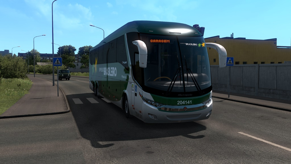 ETS2 - Bus Marcopolo G7 1200 Volvo V1.8 (1.36.X)