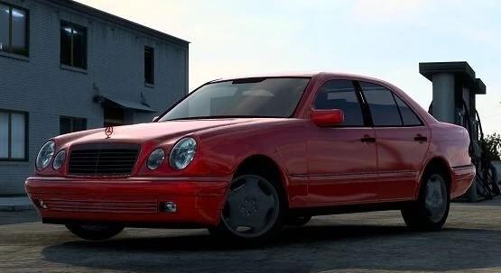 ETS2 - Mercedes-Benz W210 E-Class V2.0 (1.40.x)
