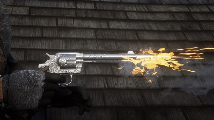 RDR2 - Javier Double Action Revolver