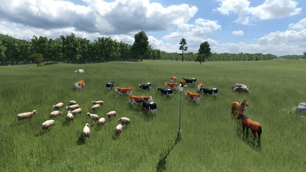 Transport Fever 2 - Animals Asset
