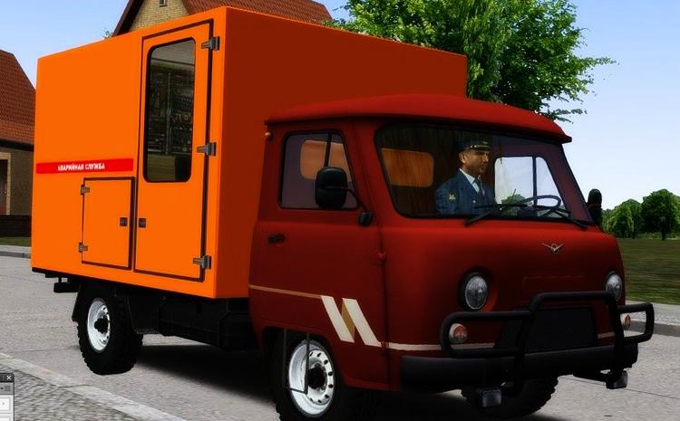 Omsi 2 – Uaz-390995 Truck