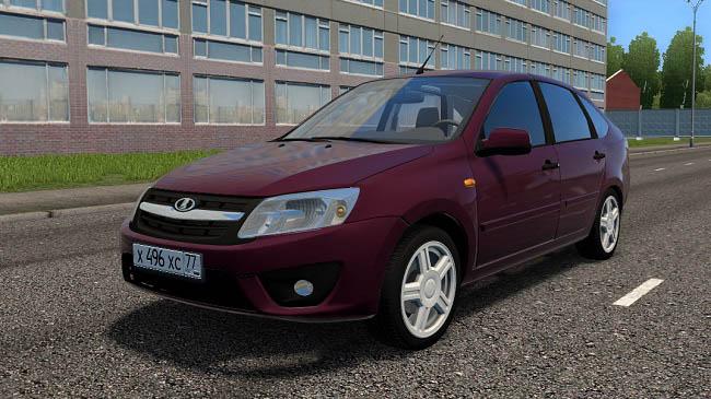 City Car Driving 1.5.9 - Lada Granta Liftback 1.6 MT