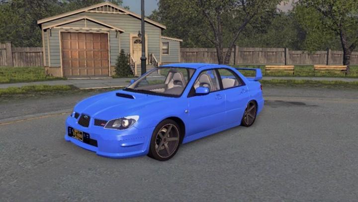 Mafia 2 – Subaru Impreza STI