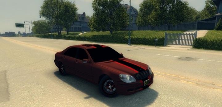 Mafia 2 – Mercedes-Benz S600 W220 Jorick Revazov