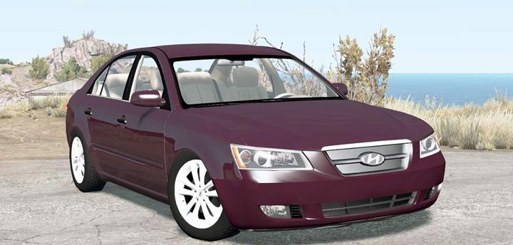 BeamNG – Hyundai Sonata (NF) 2006 Car Mod