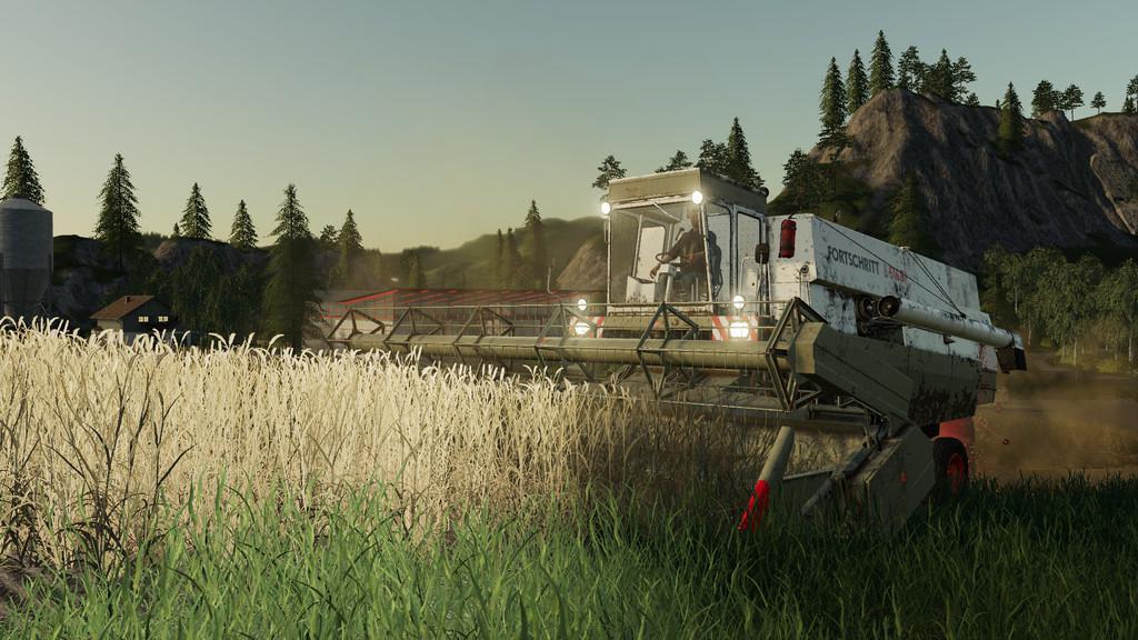 FS19 - Fortschritt E516 Harvester Pack V1.0