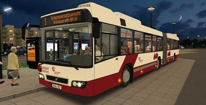 Omsi 2 – Volvo 7700A Facelift Bus Mod